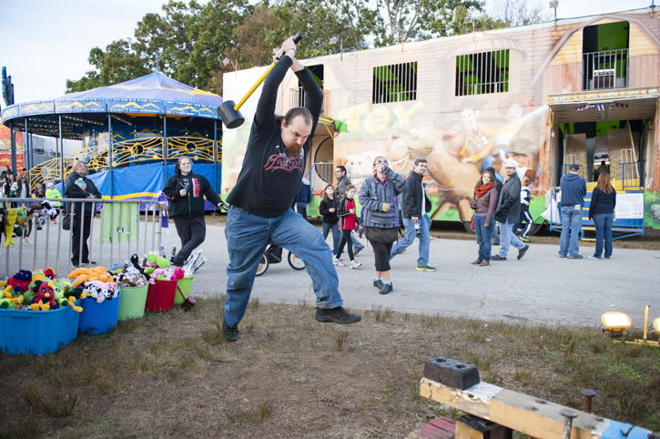 Strongman at The Topsfield Fair