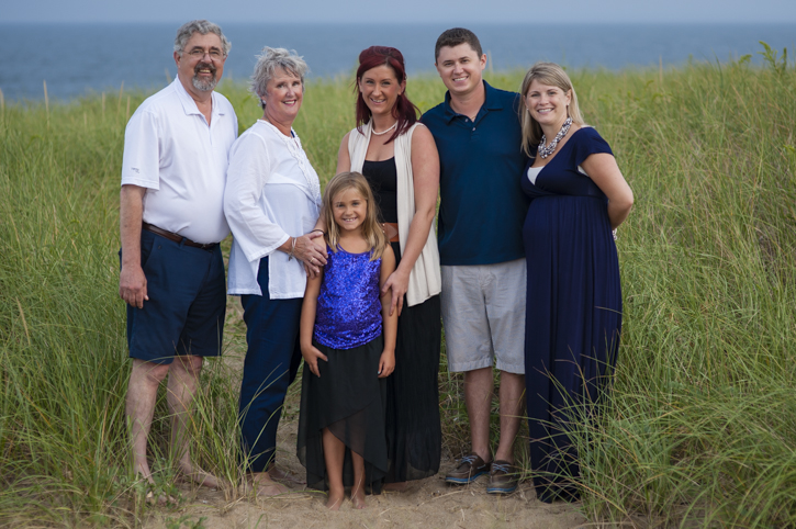 The Goodemote Family at Plum Island