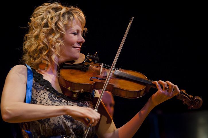 Natalie MacMaster at Sanders Theater.   She and Donnell Leahy now have 5 children, and somehow still find the time and energy to tour!