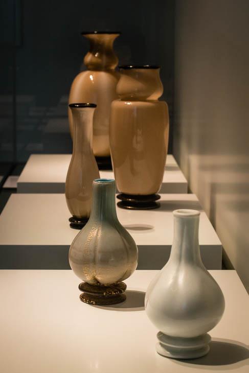 glass exhibit at San Gorgio