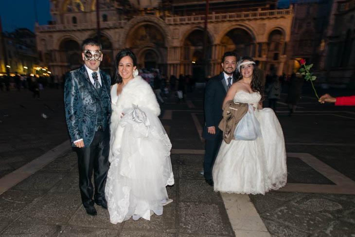2 brides at San Marco