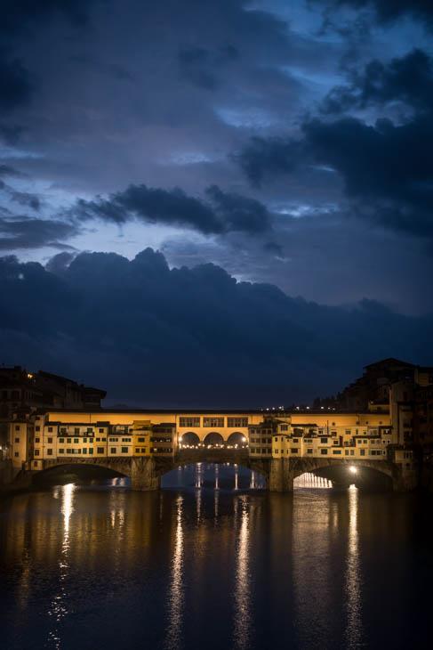 The Ponte Vecchio Bridge