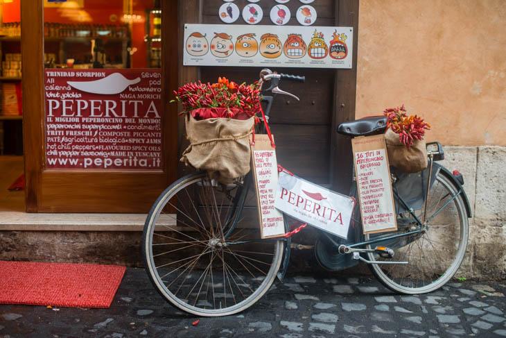 store in the Jewish Ghetto in Rome