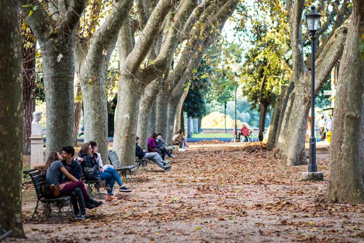 The Borghese Gardens