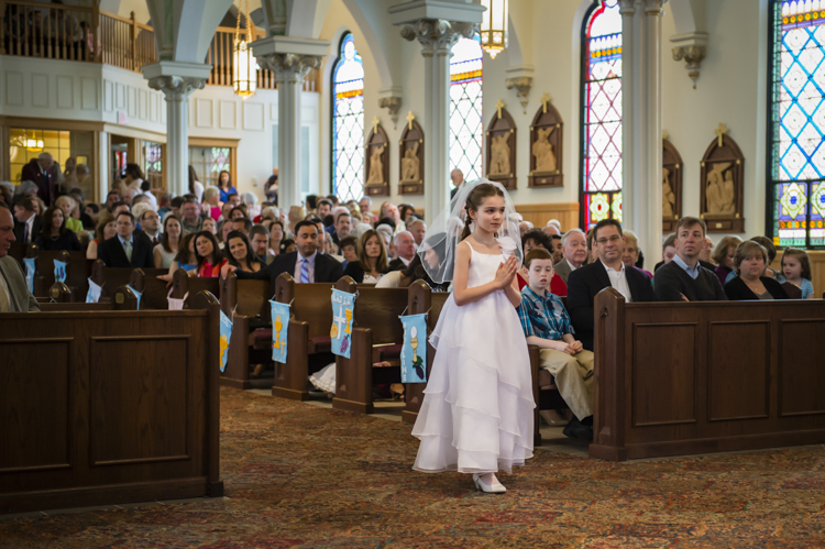 I remember...going to Bella's First Communion at St Patrick's Church in Stoneham, Mass and seeing this beautiful girl as the leader of the procession...