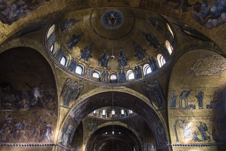 I remember...Saint Mark's Basilica in Rome...
