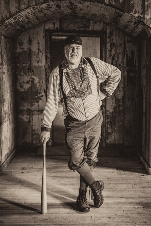 I remember...this classic portrait of this Colorado vintage base ball player taken on Georges Island in Boston...my favorite vintage base ball photo of the year...