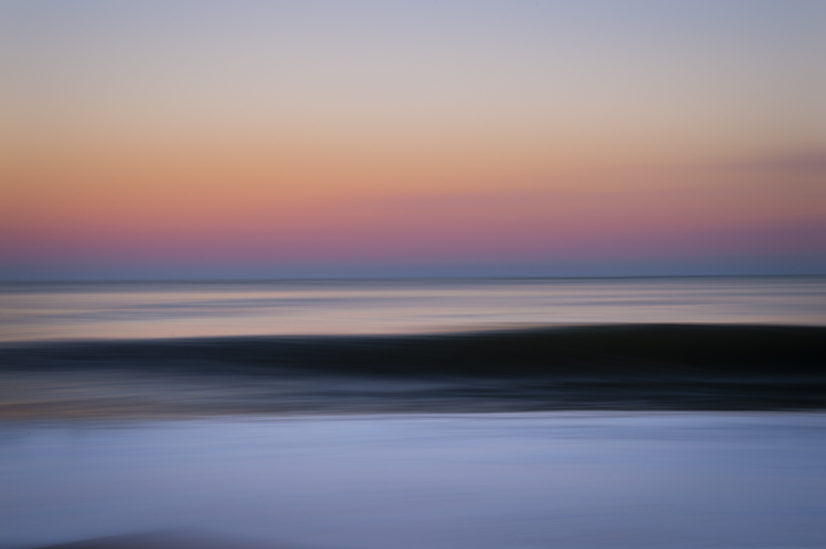 "I remember...slowing down enough to ""work"" on taking this photo...my favorite seascape of the year..."
