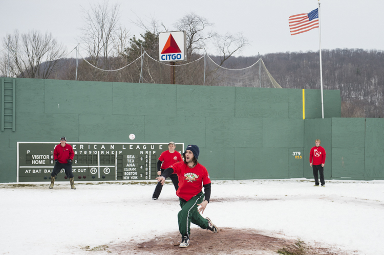 I remember...the Whiffleball Winter classic at Little Fenway in Jericho, Vermont...