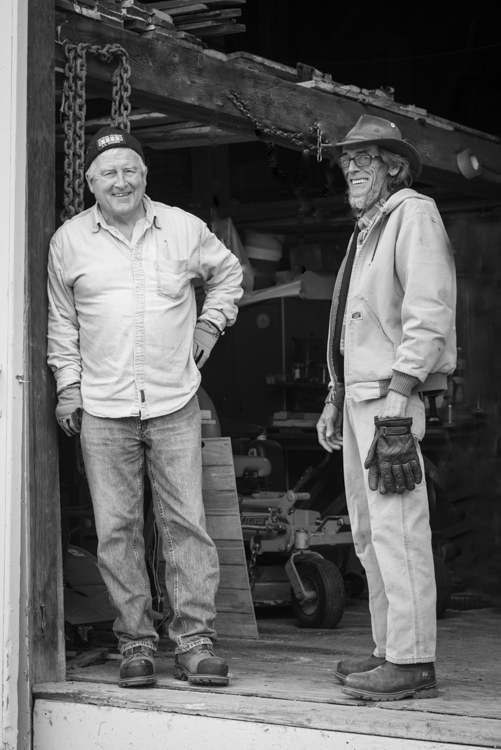Mike and Jim at another truly magical place that I love to frequent, Spencer Peirce Little Farm in Newbury, Mass