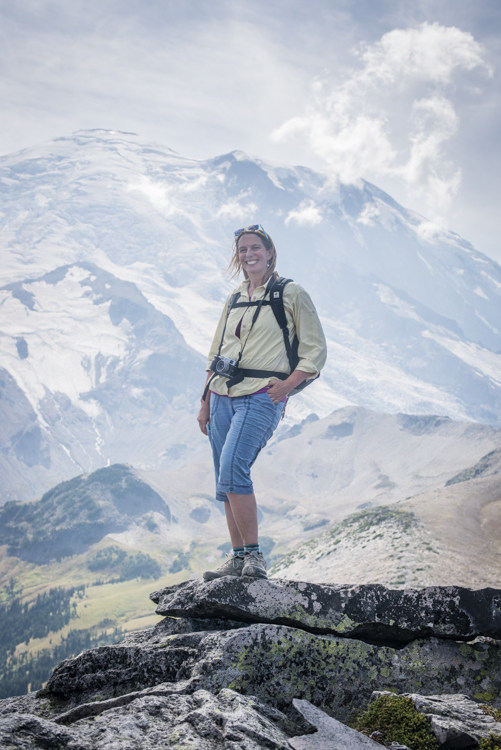 My BFF Debbie Feinman climbing Mt Rainier in September. Taken on a spectacular day in an amazing place...a moment I will never forget...