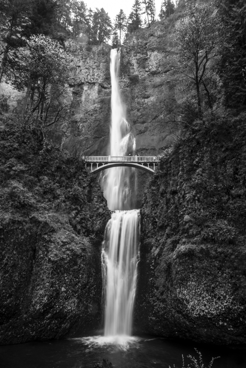Multnomah Falls, just outside or Portland, Oregon. This is the classic shot that every tourist like me has to take because it really is that beautiful...