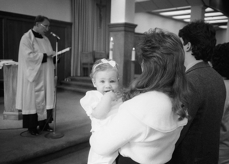 danielle christening