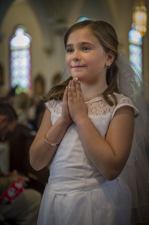 bella's first communion. i was so happy i was there!