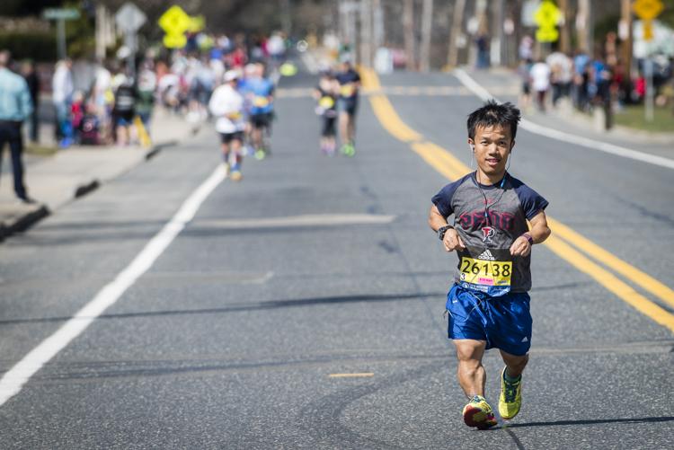 danh trang, boston marathon
