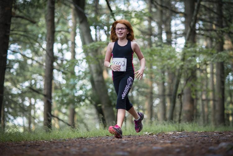 the coolest girl runner at lynn woods