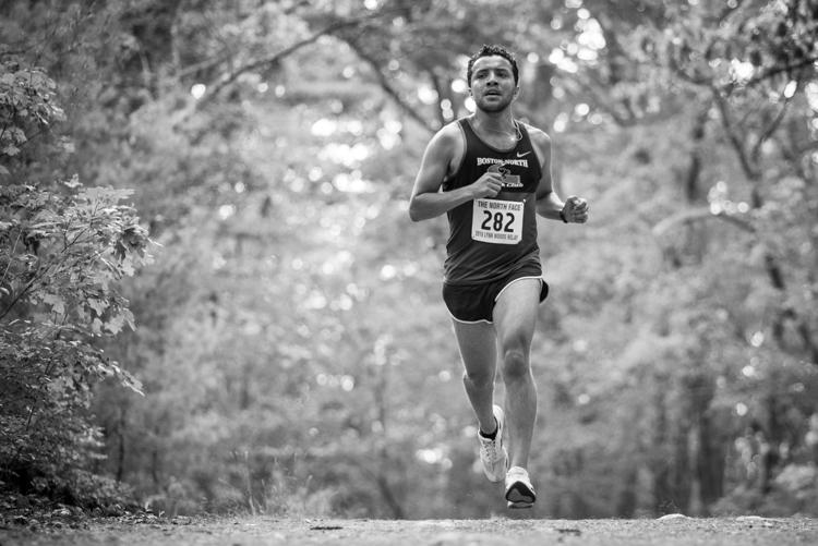 Lynn Woods relay runner