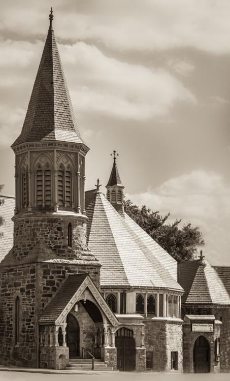 my portrait of an amazing church, The Roxbury Presbyterian Church in Boston