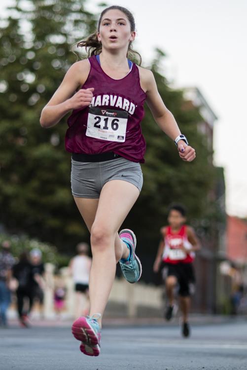 runner at the salem mile
